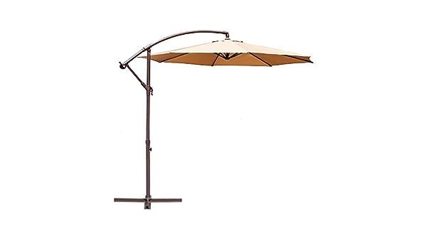 a959e706b1 Amazon.com : Le Papillon 10-ft Offset Hanging Patio Umbrella ...