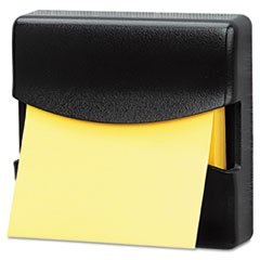 FELLOWES MANUFACTURING 7528201 Partition Additions Pop-Up Note Dispenser for 3 x 3 Pads, Dark Graphite
