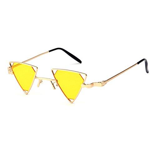 Gafas B Gafas Y Diseño Pequeña Sol Sol Gafas Europa Los D Sol Unidos Punk Caja Triángulo Metal Hueco De De Swag Retro Estados De BxBAqf