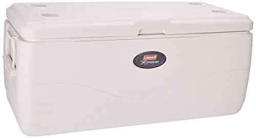 Coleman 150-Quart Cooler Marine with Rope Handles (White)
