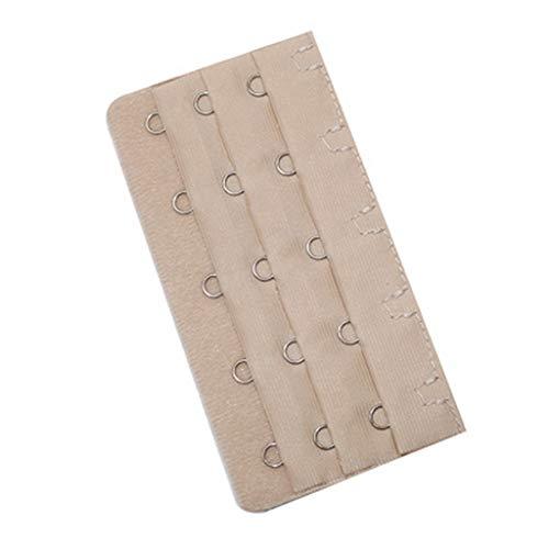 - Women's 5Pcs Useful Bra Extender Strap 5 Hooks 3 Rows Women Lady Intimates Bra Adjustable Belt Buckle Bra Strap Extension Skin
