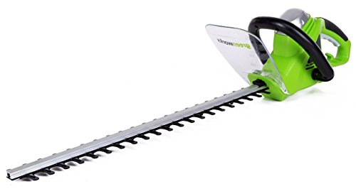 Greenworks 22-Inch 4-Amp Corded Hedge Trimmer 2200102 (Renewed)