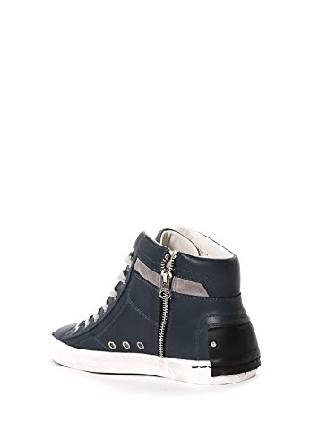 CRIME LONDON HOMME 1102141 GRIS CUIR BASKETS MONTANTES