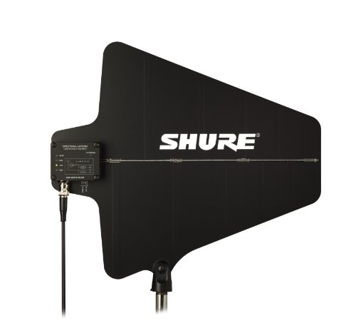 Shure UA874US Active Directional UHF Antenna with Gain Switch (470-698 (Directional Antenna Gain)