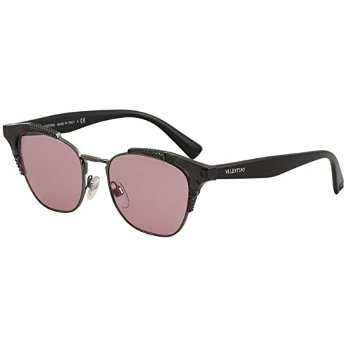 ca88669911 85% OFF Valentino 0VA4027 506384, Gafas de Sol para Mujer, Gris (Dark