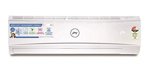 Godrej 1.5 Ton 3 Star Split AC (Copper, GSC 18KTC3-WSA, White)