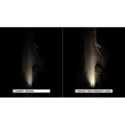 OSRAM XENARC Night Breaker Laser D3S, 200% more brightness, HID xenon bulbs, discharge lamps, 66340XNL-HCB (twin): Automotive