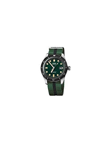 Oris Divers Automatic Green Dial Mens Watch 01 733 7720 4057-07 5 21 25FC