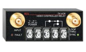 RDL TX-VCR Video Controlled Relay - BNC