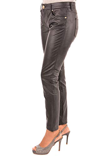 Jeans Pelle Skinny 56j00024 1t001546 Neri Trussardi Effetto Seconda inverno Martellato Super Autunno trrZqp