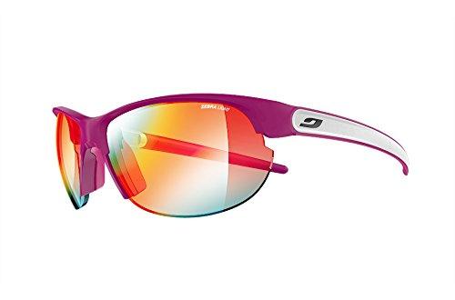 Julbo Breeze Sunglasses - Zebra - Plum/White