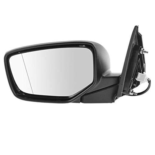 Koolzap For 13-15 Accord 4-Door Sedan Power Non-Heat Manual Folding Mirror Left Driver - Door Honda Accord Oem Mirror