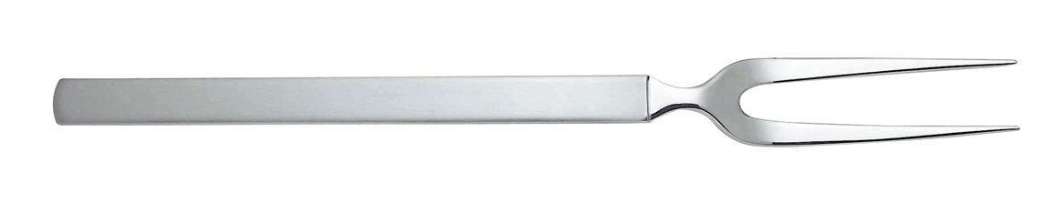 Alessi''Dry'' 10-1/4-Inch Carving Fork with Satin Handle