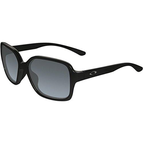 Oakley Womens Proxy Polarized Sunglasses, Polished Black/Grey Gradient, One - Sunglasses Womens Oakleys