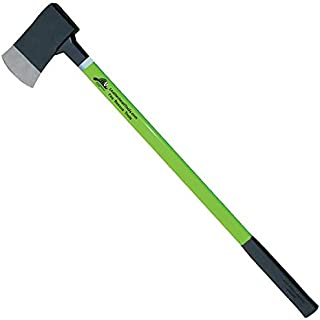 "product image for Flat Axe,36"" Lime Fiberglass Handle,6 lb. Head"