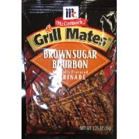 McCormick Grill Mate BROWN SUGAR BOURBON Marinade 1.25oz (10 Packets) ()