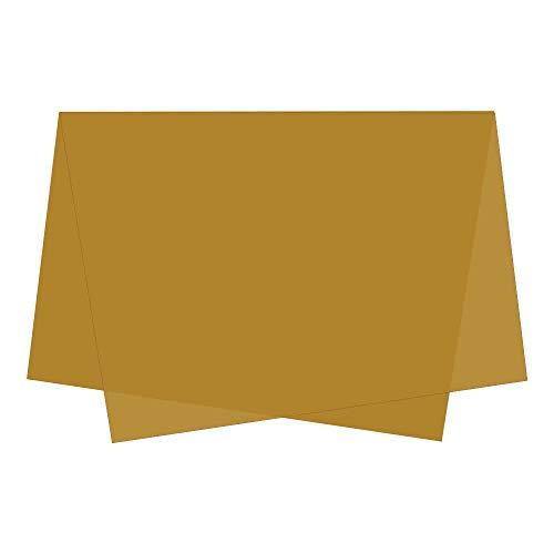 Papel de Seda 50x70 C/ 100 Caramelo Escuro