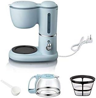 LGL-kafji cafetera, 0.6L Máquina de café, pequeños electrodomésticos completamente automático por goteo Cafetera, mini Cafetera, doble finalidad Bebida caliente de goteo Cafetera,550W rápida de agua e: Amazon.es: Hogar