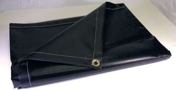"Neoprene Coated Nylon Tarp, Grommets 24"" All hems"