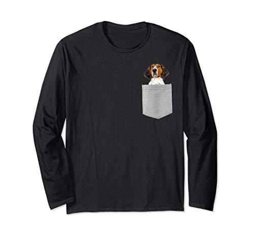 (Dog r Pocket Treeing Walker Coonhound Longsleeved T-shirt)