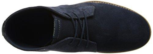 Volcom Del Mesa Shoe - Zapatillas De Skate de cuero hombre Azul Midnight