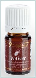 Vetiver Essential Oil 5ml by Young Living Essential Oils