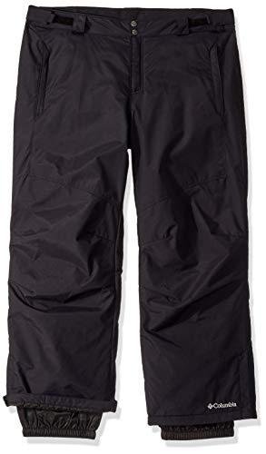 Columbia Men's Bugaboo II Pant, Waterproof and Breathable, Black, 4X Regular