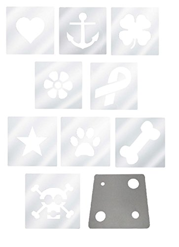 Professional Dog Grooming Color Dye Stencil Kits Plastic Reble Tool by Defonia Petsupplies