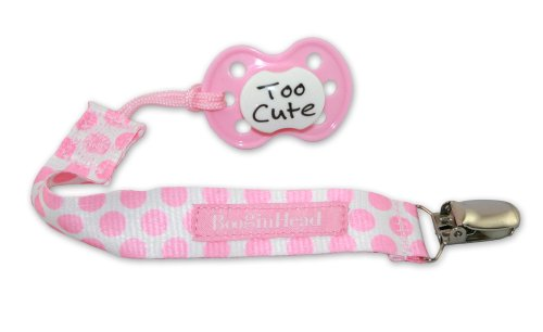 Booginhead PaciGrip Pacifier Holder Delicate