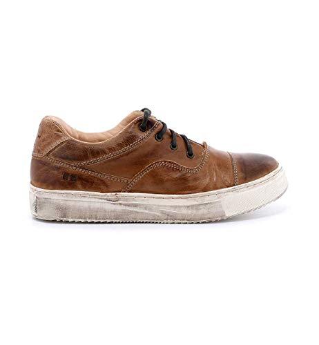 Bed|Stu Women's Holly Leather Sneaker (8 M US, Tan Rustic)