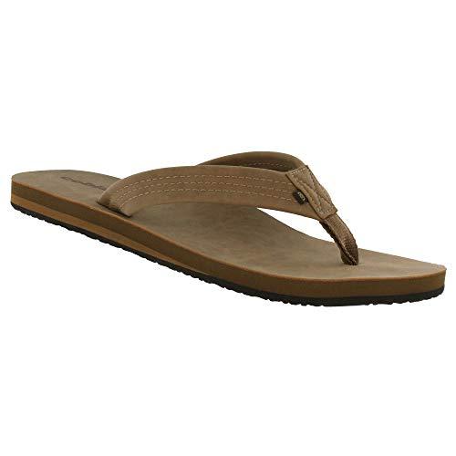 Cobian Men's Las Olas 2 Tan Flip Flops, 15 (Flip Flop 15)