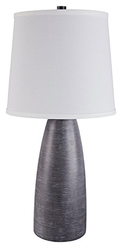 Signature Design by Ashley L243004 Shavontae Table Lamp, Set of 2, Gray