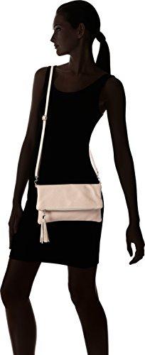 Bags4Less Luna - Carteras de mano Mujer Rosa (Nude)