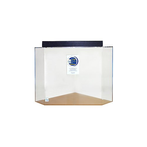 Acrylic Pentagon Aquarium 50 Gallon Sapphire by Advance Aqua Tanks
