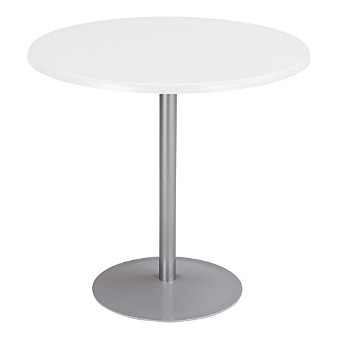 - Safco Products 2490SL Entourage Table Base (Top sold separately), Silver