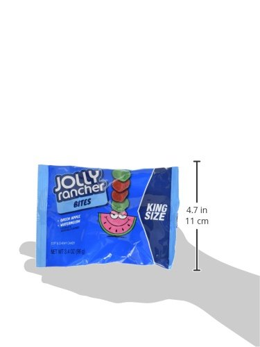 JOLLY RANCHER Chewy Candy Bites, Halloween Candy, Green Apple, Watermelon, King Size (Pack of 12) by Jolly Rancher (Image #5)