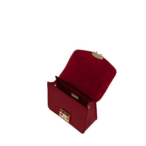 bandoulière Crossbody Small Furla Metropolis Sacs Rouge wx7Zzq