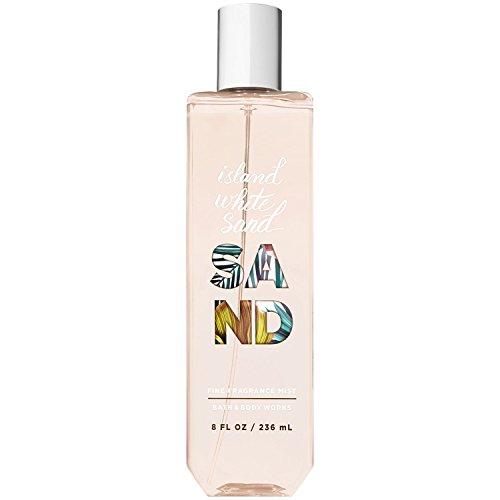 (Bath and Body Works Island White Sand Fine Fragrance Mist 8.0 Fluid Ounce (2018 Edition))