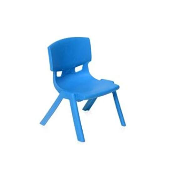 Nilkamal LivShine Intra Strong and Durable Plastic School Study Chair for Kids (Blue, Medium)