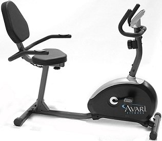 Stamina Avari R210 Magnetic Recumbent Bike w/ Stationary Handlebars