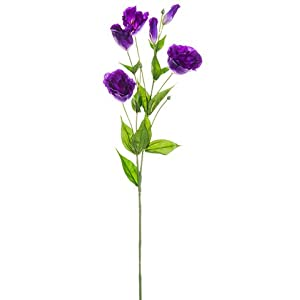 "34""Lisianthus Spray Violet (pack of 12) 25"