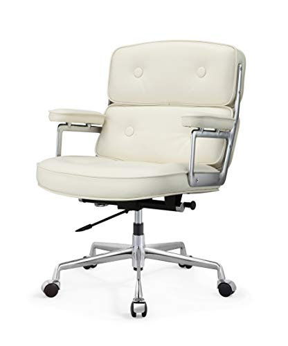 Meelano 310-WHI Office Chair, One Size, - Wheels M310