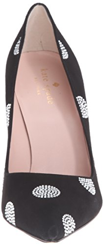 Kate Spade New York Mujeres Libby Dress Pump Suede Negro