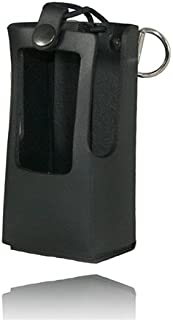 product image for Boston Leather 5616RC-1 Plain Black Radio Holder for Kenwood Nx300