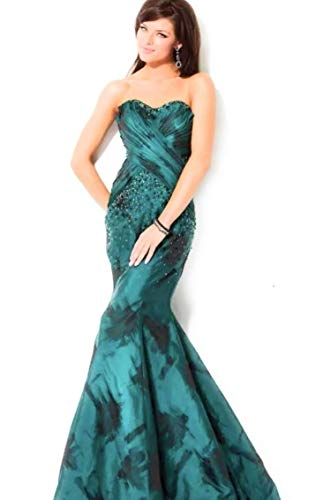 Jovani Green Dress for Women Size 0 ()