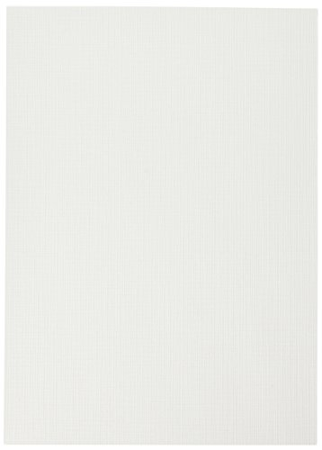 Inkpress LM5750 Linen Matte 5X7 50 200 GSM Textured Watercolor Paper 10 Mil Bright White 1 Side