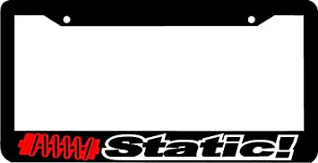 Thin Frame PLEASE BE PATIENT I/'M LOWERED jdm JDM wakaba leaf License Plate Frame
