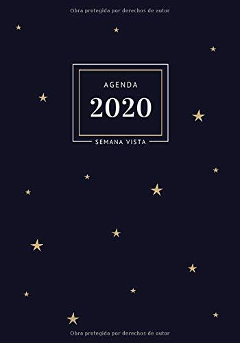 Agenda 2020 Semana Vista: 12 Meses Enero 2020 a Diciembre ...