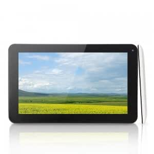"SOSOON X10 Fashion 9"" Capacitive Dual-Core Android 4.1 8GB Tablet PC RJ45 Camera Black & White"