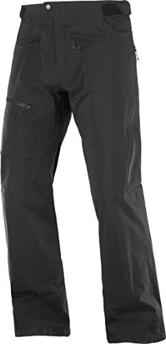 Salomon Outpeak 3L Light Shell Pant - Men's Black, M
